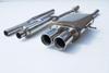 Invidia 2007 MINI COOPER S Q300 STAINLESS STEEL TIPS CAT-BACK