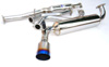 Invidia N1 Catback Exhaust: Honda Civic EF Titanium Tip Cat-Back