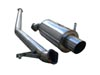 "Ultimate Racing 3"" Stainless Steel Cat-Back Exhaust System: Subaru WRX, STi (04-05)"