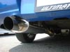 "Ultimate Racing 3"" Stainless Steel Cat-Back Exhaust System w/Straight Oval Muffler: Subaru WRX, STi"
