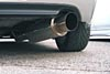 """Ultimate Racing 2.5"""" and 3"""" Single Round Muffler Cat-Back Exhaust (Passenger Side Exit): Honda S2000 (00-03), (04+)"""