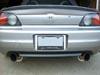 "Ultimate Racing 2.5"" and 3"" Dual Round Muffler Cat-Back Exhaust: Honda S2000 (00-03), (04+)"