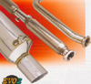 Greddy Evo2 Cat-Back Exhaust System: Honda Civic SI (HB) (02-05)
