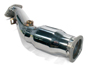 Perrin Down Pipe Rear Section: WRX (02-05), (06-07), STI (04-07)